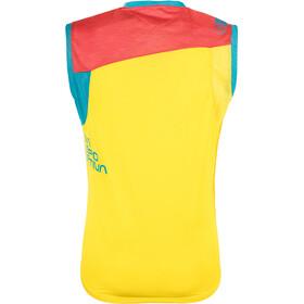 La Sportiva Strive - Haut sans manches Homme - jaune/bleu